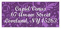 Valentine Serenity address Label