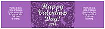 Valentine Serenity Water Label