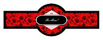 Valentine Floral Cigarband 3.27x1.16