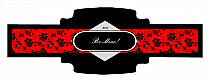 Valentine Floral Cigarband Buckle 3.27x1.16
