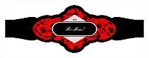 Valentine Floral Cigarband Fancy 3.27x1.16