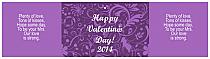 Valentine Serenity Water Bottle Labels