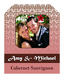 Nouveau Wine Wedding Labels