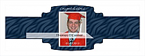 Snapshot Graduation Buckle Cigar Band Labels