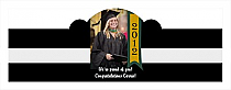 Best Wishes Graduation Billboard Cigar Band Labels