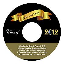 Congrats Graduation CD - DVD Labels