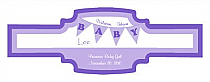 Banner Baby Buckle Cigar Band Labels