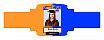Graduate Graduation Buckle Cigar Band Labels