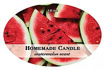 Enjoyable Candle Label Oval