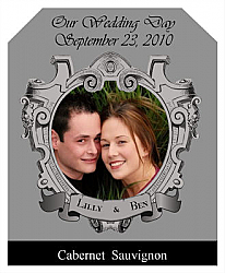 Imperial Wine Wedding Labels