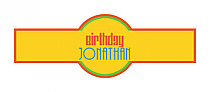 Hippie Birthday Cigar Band Labels