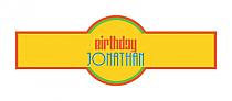 Hippie Birthday Cigar Band Labels