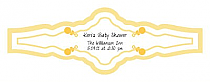 Child's Play Baby Fancy Cigar Band Labels