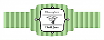 Praise Graduation Buckle Cigar Band Labels