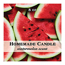 Enjoyable Square Candle Labels