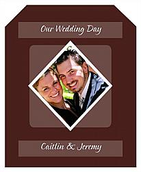 Portrait Wine Wedding Labels