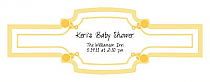 Child's Play Baby Buckle Cigar Band Labels