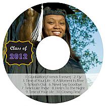 Drive CD DVD Graduation Labels