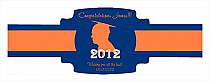 School Spirit Graduation Buckle Cigar Band Labels