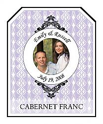 Venice Wine Wedding Labels