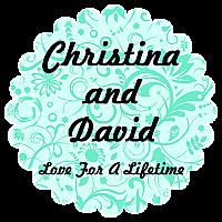 Serenity Scalloped Circle Wedding Label