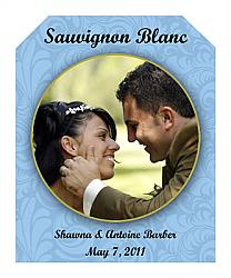 Old World Wine Wedding Labels