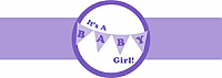 Banner Baby Cigar Band Label