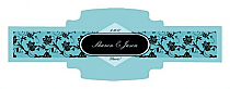 Floral Cigarband Buckle 3.27x1.16