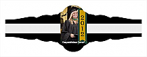 Best Wishes Graduation Fancy Cigar Band Labels
