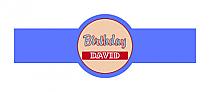 Kid Birthday Cigar Band Labels