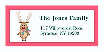 """Little Reindeer Christmas Address Labels 2"""" x .875"""""""