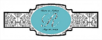 Silhouette Cigarband Buckle 3.27x1.16
