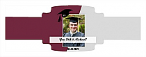 Pride Graduation Buckle Cigar Band Labels