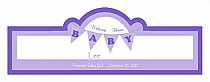 Banner Baby Billboard Cigar Band Labels