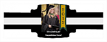 Best Wishes Graduation Buckle Cigar Band Labels
