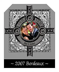 Medieval Wine Wedding Labels