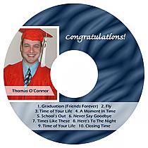 Snapshot CD Graduation Labels