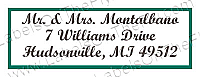 Monarch Address Anniversary Labels