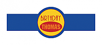 Sport Birthday Cigar Band Labels