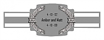 Medieval Cigarband Buckle 3.27x1.16
