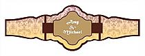Nouveau Cigarband Fancy 3.27x1.16