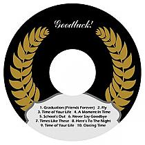 Crest CD-DVD Graduation Labels