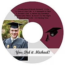 Pride CD DVD Graduation Labels