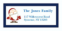"Custom Santa Christmas Address Labels 2"" x .875"""