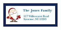 "Custom Santa Christmas Address Labels 2"" x .875"""
