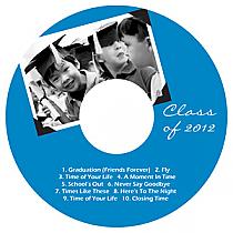 Scrapbook CD DVD Graduation Labels