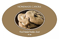 Fresh Baked Candle Label Oval