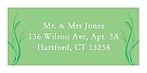 Honeymoon Waves Address Wedding Labels