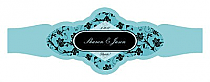 Floral Cigarband Fancy 3.27x1.16