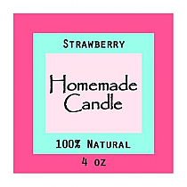 Vogue Small Square Candle Labels